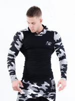 Спортивная мужская кофта AW 116 black