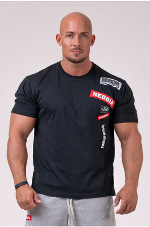 Спортивная футболка NEBBIA BOYS T-shirt Black 171 NEBBIA