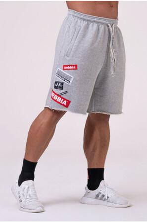 Спортивные шорты NEBBIA BOYS Shorts Grey 178 NEBBIA