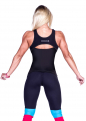 Майка Nebbia Cut-out Fitness Top 268 black NEBBIA