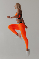 Squad Hero Scrunch Butt leggings 528 orange