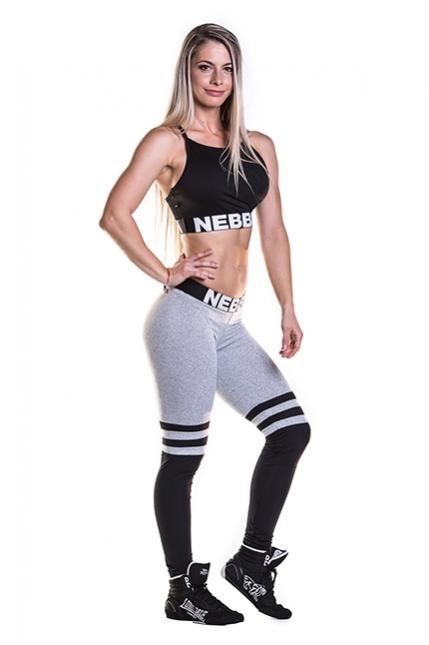 Лосины с сеткой Nebbia Over the knee 286 NEBBIA