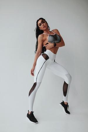Леггинсы Nebbia V-BUTT LEGGINGS 605 white NEBBIA