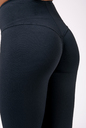 High waist NEBBIA Labels leggings 504 black NEBBIA