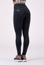 High waist Fit&Smart leggings 505 black NEBBIA