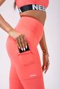 High waist Fit&Smart leggings 505 peach NEBBIA