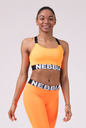 Спортивный топ Lift Hero Sports mini top 515 orange NEBBIA