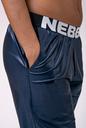 Sports Drop Crotch pants 529 blue NEBBIA