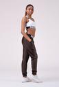 Sports Drop Crotch pants 529 brown NEBBIA