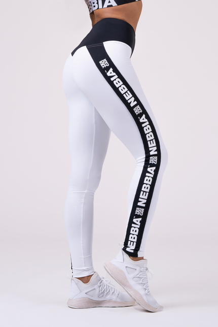 Power Your Hero iconic leggings 531 white NEBBIA
