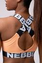 Power Your Hero iconic sports bra 535 apricot NEBBIA