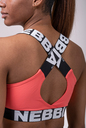 Power Your Hero iconic sports bra 535 pearch NEBBIA