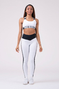 Power Your Hero iconic sports bra 535 white NEBBIA