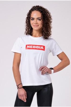 NEBBIA Women's T-Shirt White 592 NEBBIA
