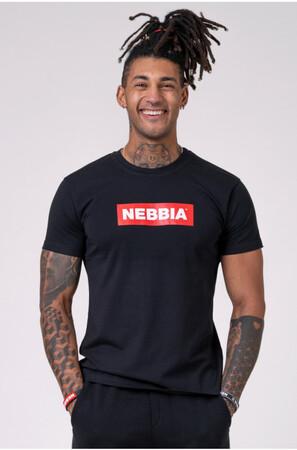 Спортивная футболка NEBBIA Men's T-shirt Black 593 NEBBIA