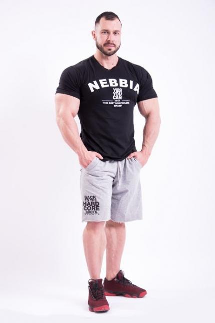 Спортивная мужская футболка T-SHIRT 396 NEBBIA