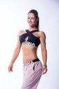 Cпортивный топ Nebbia CROSSED SPORTS 622 black NEBBIA