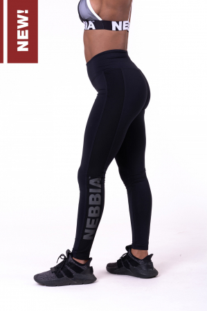 Леггинсы Flash-Mesh leggings 663 black NEBBIA