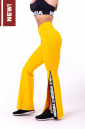 Леггинсы-клёш 70's Fancy flared pants 667 yellow NEBBIA