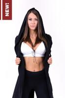 Спортивная Кофта Be rebel! tail coat jacket 681 black