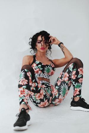 Леггинсы ALOHA BABE 550 black NEBBIA