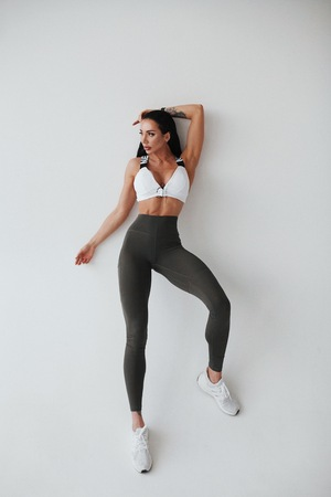 High waist Fit&Smart leggings 505 safari NEBBIA