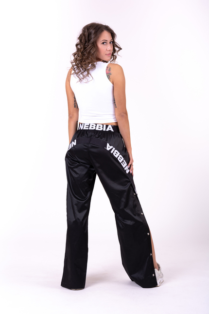 Штаны Satin Bottom Up pants 685 NEBBIA