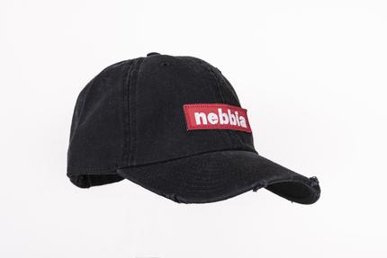 Кепка NEBBIA 162 черная NEBBIA