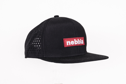 Кепка Red Label NEBBIA cap SNAP BACK Black 163 NEBBIA