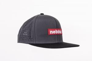 Кепка NEBBIA 163 серая NEBBIA