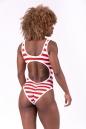 """Купальник """"Baywatch"""" swimsuit in stripe 676 NEBBIA"""