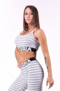 Cпортивный топ Boho Style 3D pattern mini top 659 NEBBIA