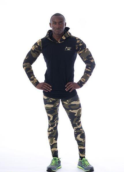 Спортивная мужская кофта AW 116 black NEBBIA