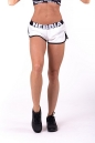Шорты Contrast Hem beach shorts 697 white NEBBIA
