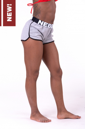 Шорты Contrast Hem beach shorts 697 grey NEBBIA