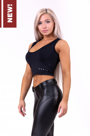 Спортивный топ More than basic! cropped singlet 690 NEBBIA