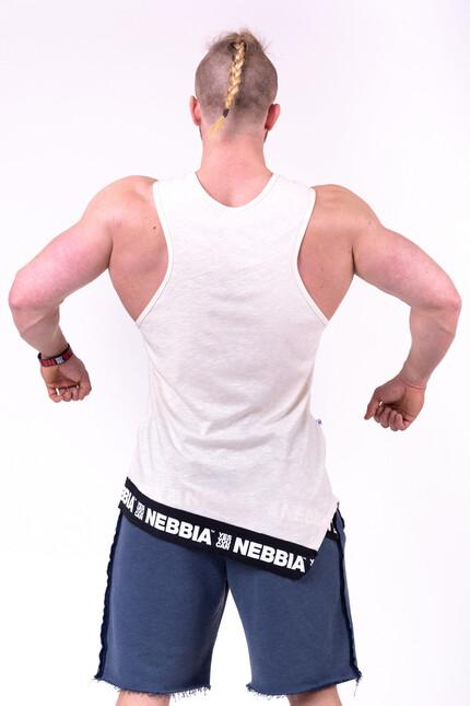 Майка мужская Nebbia Be rebel  141 cream NEBBIA
