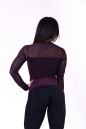 Женская футболка для фитнеса Flash-Mesh longsleeve shirt 664 NEBBIA