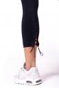 Леггинсы Lace-up 7/8 leggings 661 black NEBBIA