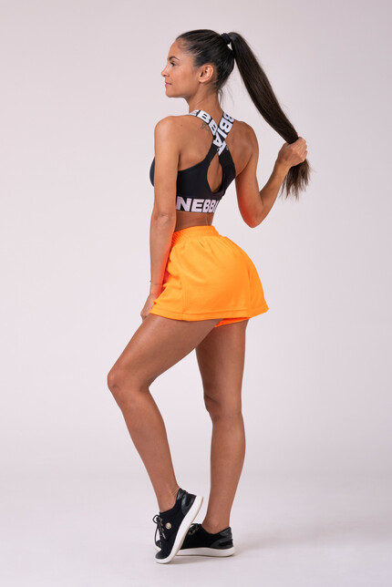 Шорты Neon Energy boxing shorts orange 519 NEBBIA