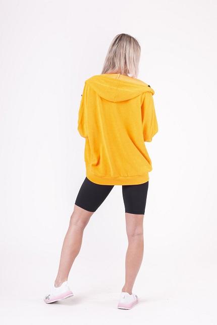 Спортивная Кофта Neon Energy oversized hoodie 682 NEBBIA