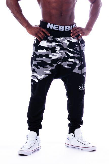 Спортивные  штаны Nebbia camo AW 117 black NEBBIA
