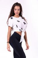 "Футболка для фитнеса Tied knot ""Letters"" T-shirt 680"