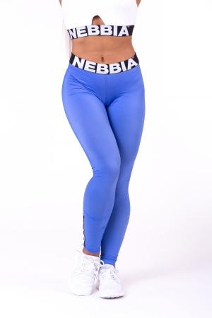 Леггинсы Scrunch butt Nebbia 691 синие NEBBIA